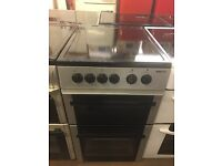 50CM SILVER BEKO ELECTRIC COOKER HORPLATE TWIN/CAVITY