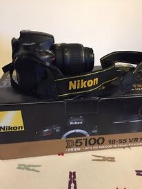 Nikon D5100 Digital SLR Camera with 18-55mm VR Lens Kit (16.2MP)