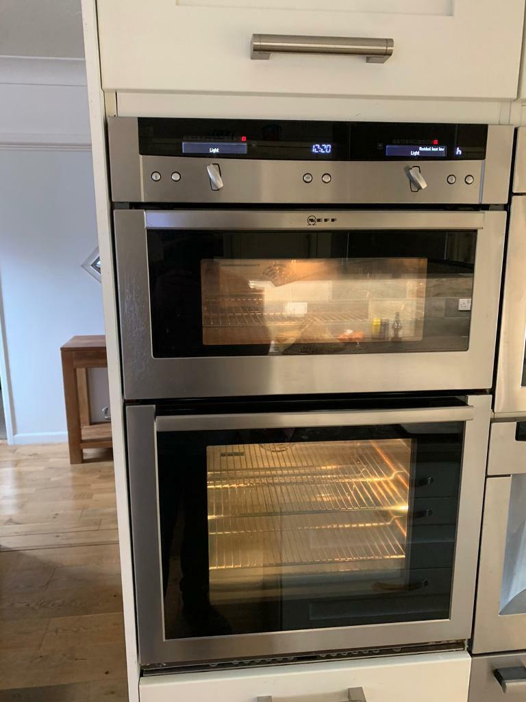 Neff Double Oven Top Of The Range In Newton Abbot Devon
