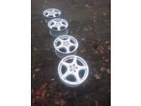 Set of Mercedes 18'' alloy wheels 5x112