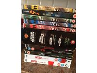 DVDs for sale including boxed sets