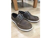 ** Gul Leather Deck Shoes - Size 11 - Tan - BRAND NEW **
