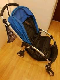 2009 bugaboo bee stroller (including two footmuff and big clip)