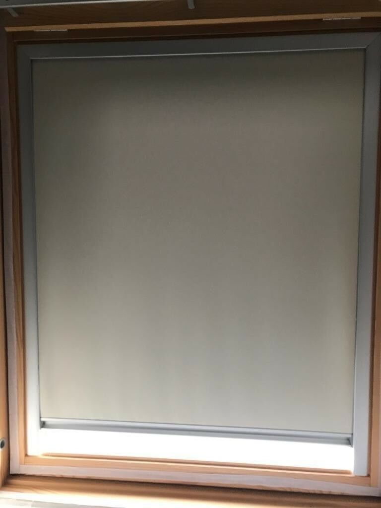Velux Blackout Blind Fits Model Ggl M04 Manual Operated Beige