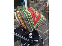 Custom Bugaboo Cameleon set - hood seat liner harness pads