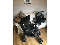 Silvercross 3D pram/pushchair with accessories