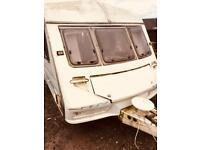 Caravan for breaking