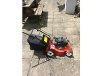 Lawnmower - mountfield emblem petrol with grass box