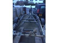 Indespension coaster trailer 13-16ft boat