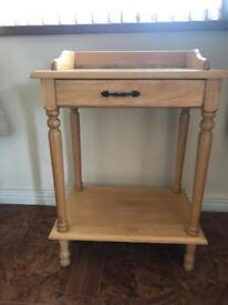 Single Drawer Hall Table