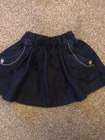 Denim Skirt from Next 12-18 months
