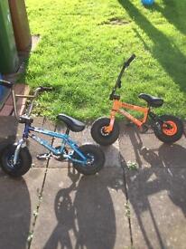 Rocker Tango & Seafoam stunt bikes