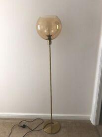 Modern & Stylish Floor Lamp, In VGC.
