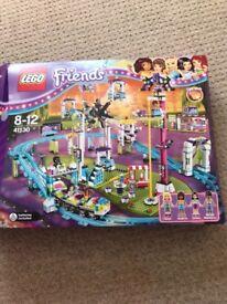 friends theme park rollercoaster Lego