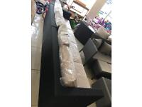 Brand New 4 Seater Rattan Effect Sofa