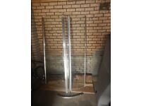 Shower Screen, Curved, ROMAN Colossus, H - 1900mm W - 1200m