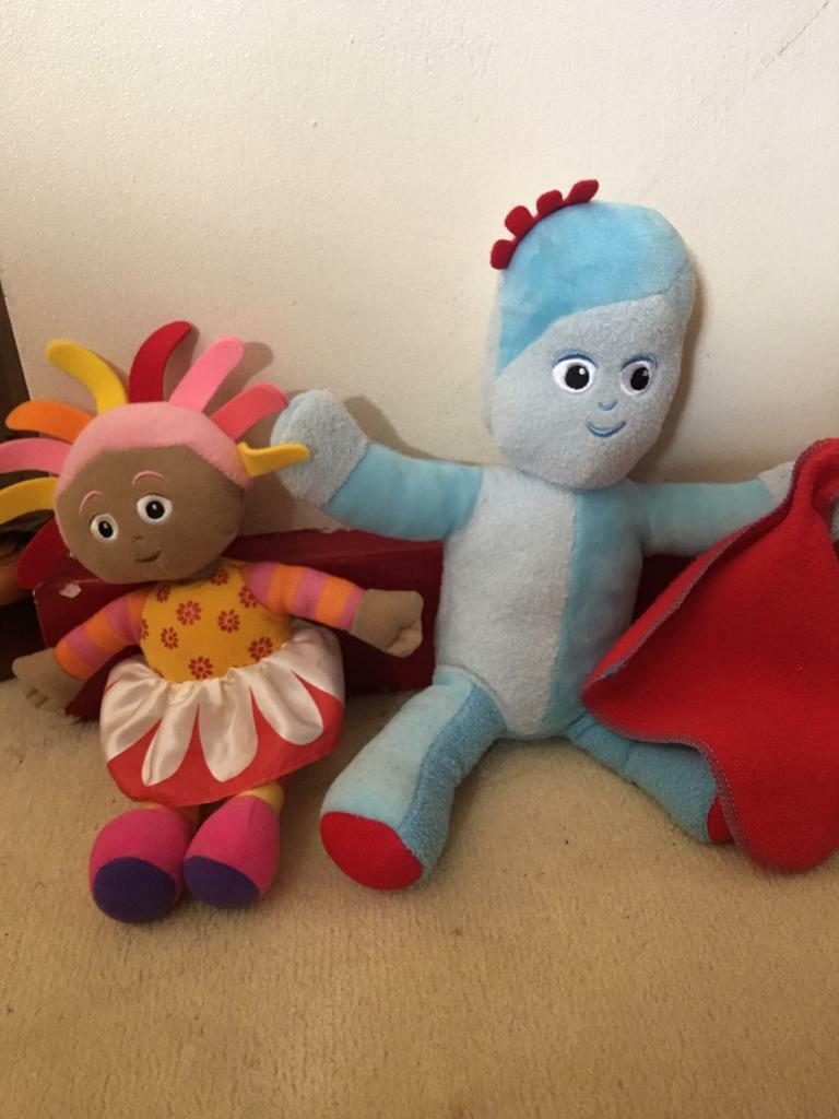 In the Night garden, giggle piggle and upsey daisy