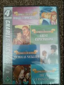 Charles Dickens Collection DVD BNIB - 4 cartoon films