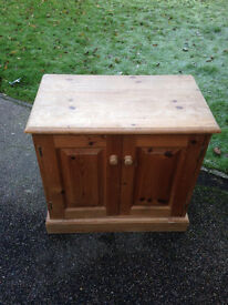 Small Pine Cupboard- REDUCED FOR QUICK SALE
