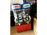 Bras 2 bowl 10l each slush machine NO SILLY OFFERS WILL BE IGNORED