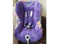 Britax car seat 9-18kg personalised cover