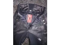 Ladies motorcycle jeans and jackets