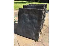 Slabs - various sizes - 64 pieces - £150 job lot