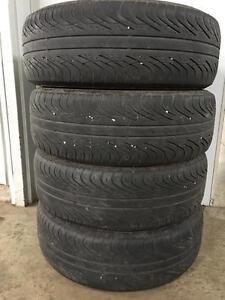 Set of 205/65R15 summer tires