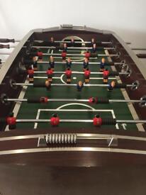 Sportscraft Wooden football table.
