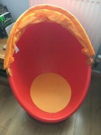 Kid's Ikea swivel chair