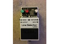 BOSS Line Selector LS-2 Guitar Pedal