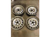 VW caddy steel wheels 15inch £30