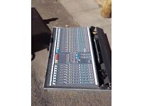 Allen and Heath GL2200 24 channel audio mixer