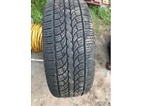 Range Rover/VW T5 wheels & tyres 20in