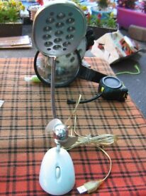 usb light and fan