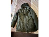Warm waterproof winter coat