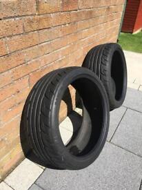 2x 245/35 zr20 tyres