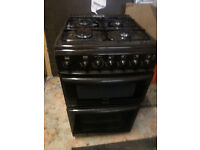 Calor gas cooker oven and 4 rings