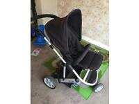 Mamas and papas zoom pushchair & carry cot