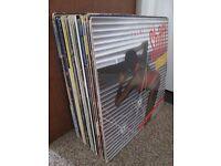 Lot 48 Vinyl Record Singles Shaft Damian Eurythmics Simple Minds Pop Disco Soul Collection