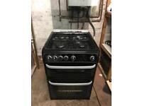 Gas cooker black cannon 60cm
