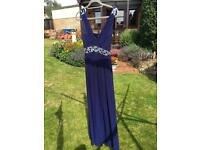 Blue Quiz dress