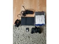 excellent ps2 slimline and 10 great games