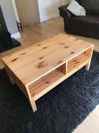 IKEA solid pine TV unit