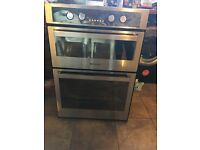 Double oven, only been used for a few months. In great condition