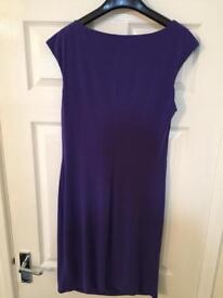 Purple Wallis Dress UK12