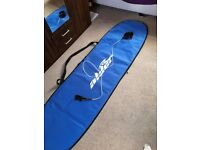 7'6 Alder mini mal surfboard