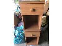 Pair of bedroom cabinets