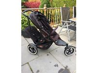 Phil and teds explorer tandem pushchair