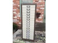 15 drawer filing cabinet